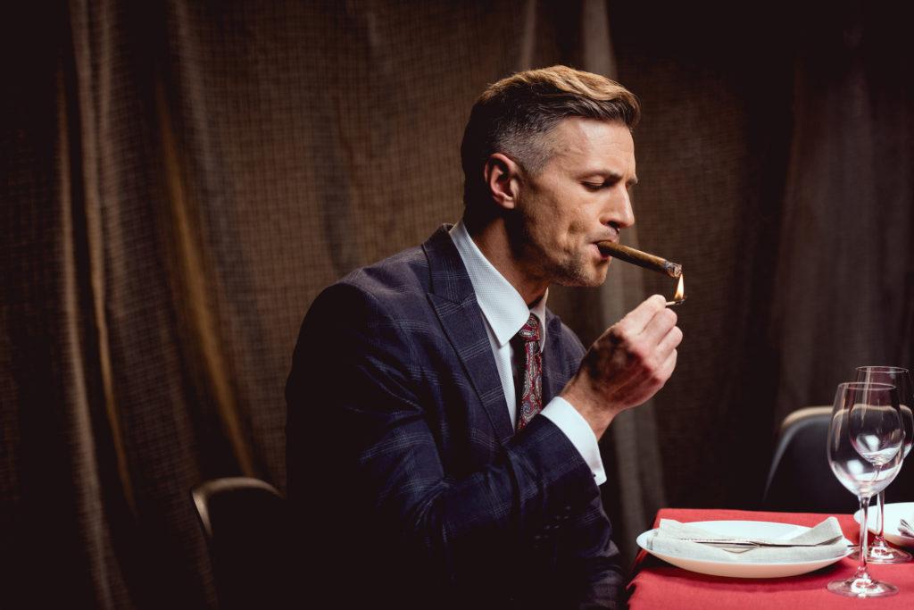 Roken in het restaurant